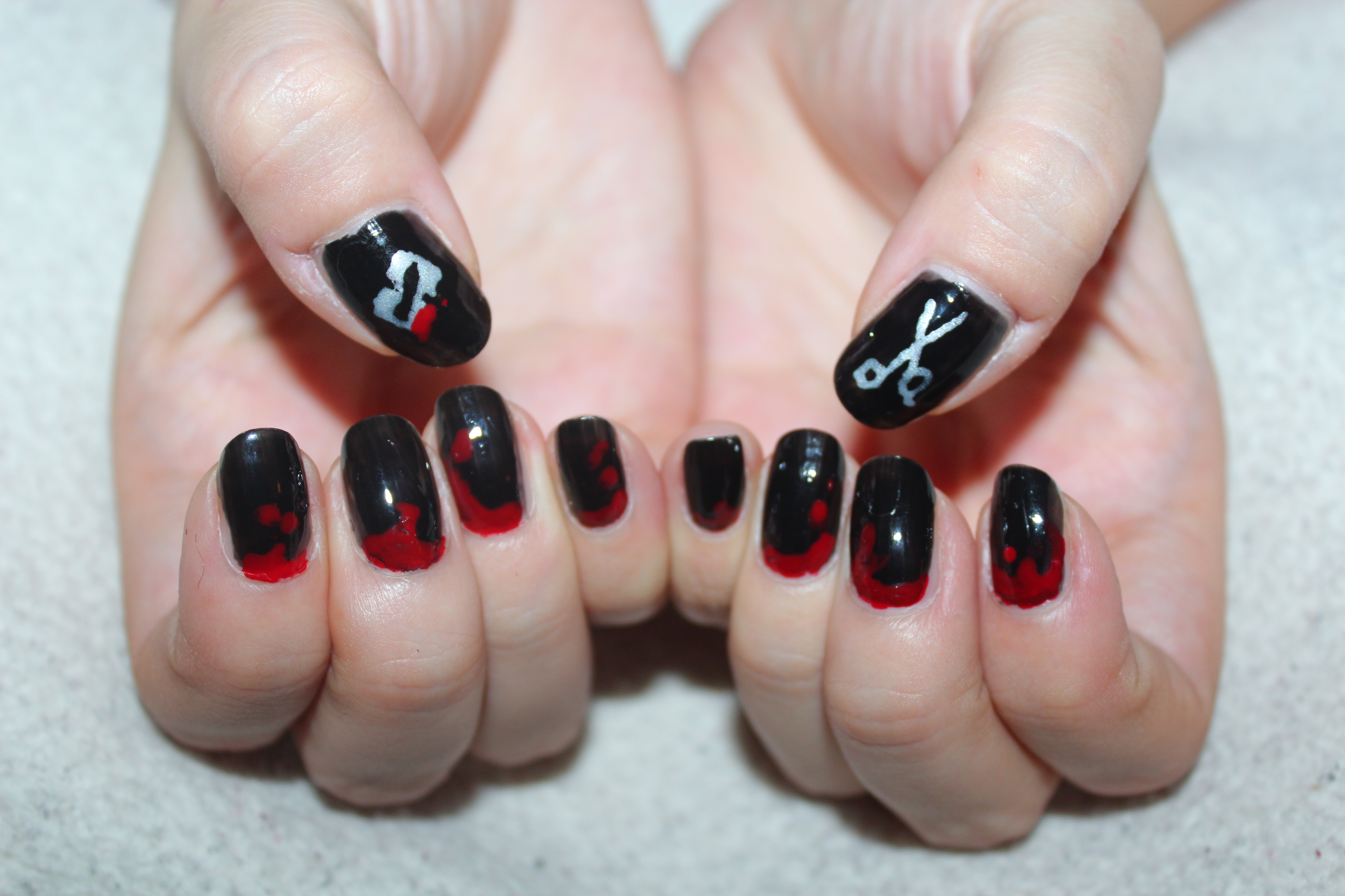 Sweeney Todd nails 2